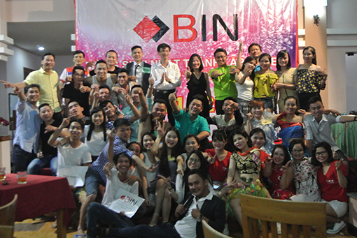 Happy 7th birthday Bin Holdings at Ninh Chu, Vinh Hy