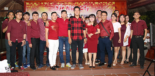 Bin Holdings' year end party in 2016