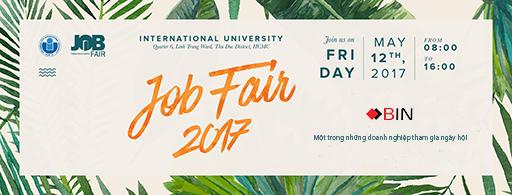 bin holdings tham gia job fair 2017