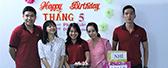 BIN HOLDINGS mừng sinh nhật cho nhân viên  có ngày sinh trong tháng 5