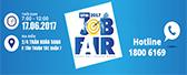 """BIN HOLDINGS tham gia ngày hội tuyển dụng  """"Job Fair UFM 2017"""""""