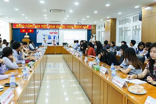 họp báo job fair