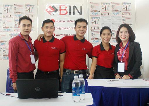 thành viên tham dự Job Fair UFM 2017