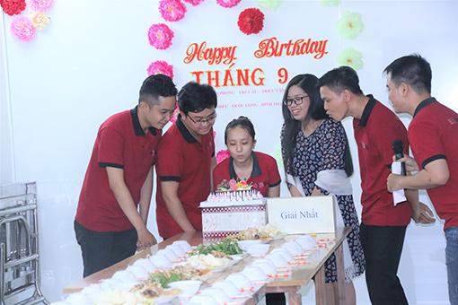 thành viên có sinh nhật trong tháng 9
