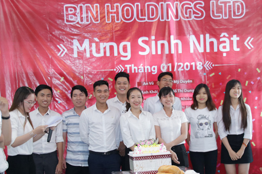 BIN Holdings-Employees born in Jan