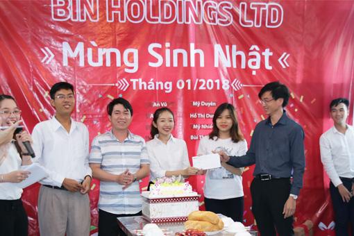 BIN Holdings-The winner got the prize