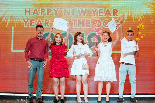 BIN Holdings-New year party-Best Comedy