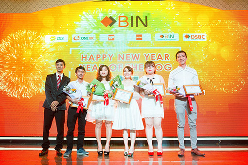 BIN Holdings-New year party-Excellent employees