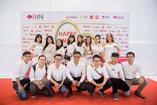 BIN Holdings-New year party-Media team