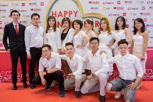 BIN Holdings-New year party-NNBER team