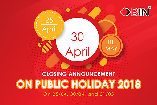 BIN Holdings-Public Holiday Announcement-2018