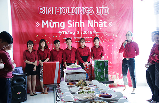 BIN Holdings-6 members have birthday