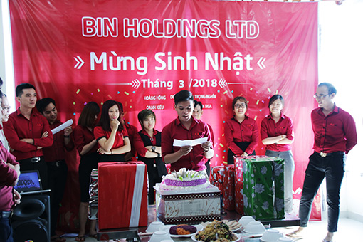 BIN Holdings-Read wishes for Women Day