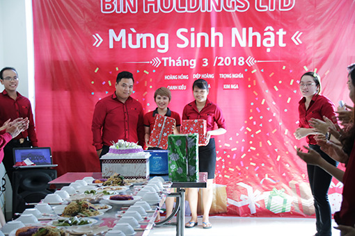 BIN Holdings-Give presents
