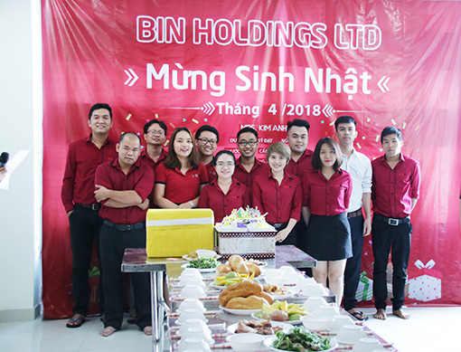 BIN Holdings-12 members had birthday