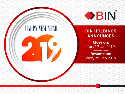 BIN Holdings-New year announcement-2019