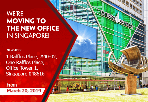 Notice Of Singapore Office Relocation